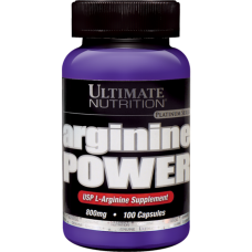 Аминокислоты Arginine Power 100 капс. Ultimate от Ultimate Nutrition