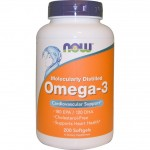 Omega-3 1000 мг. 200 гел.капс. NOW