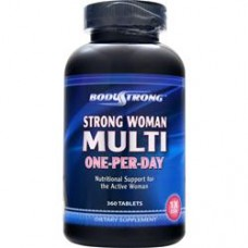 Витамины и минералы Strong Woman Multi - One-Per-Day 360 таб. Body Strong от Body Strong